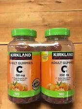 Kirkland Signature Vitamin C 250mg 360 Adult Gummies - 2 Pack