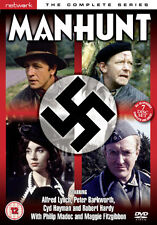 DVD:MANHUNT  - COMPLETE SERIES - NEW Region 2 UK