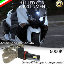 KIT A LED H11 6000K 3200 LUMEN YAMAHA T-MAX 530 ANABBAGLIANTE ACCENSIONE RAPIDA