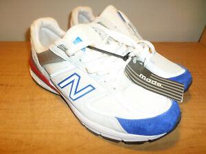 NEW New Balance 990v5 Men's Size 8 Running Shoes Nimbus Cloud Blue Red M990NB5