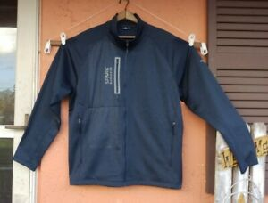 The North Face Men XXL Fleece Lined  Jacket Blue Full Zip