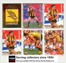 POPULAR-2000 Select AFL Stickers Base Team Set Hawthorn (15)