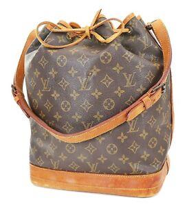 Authentic LOUIS VUITTON Noe Monogram Shoulder Tote Bag Purse #38731