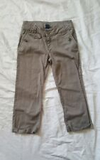 Girls gapkids brown crop jeans size 14 regular