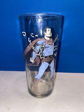 Superman Vintage Pepsi Collector Series Glass/1975/DC Comics