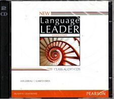 Pearson NEW LANGUAGE LEADER Elementary CLASS AUDIO CDs 2014 Edition @NEW@