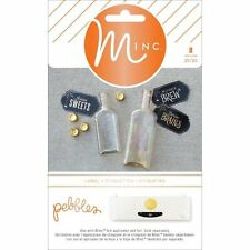 Pebbles - Boo! Minc Collection - Heidi Swapp - Labels - Halloween