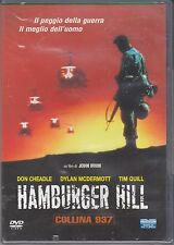 Dvd **HAMBURGER HILL ♦ COLLINA 937** nuovo 1987