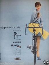 PUBLICITÉ 1957 SA JUPE NE CRAINT RIEN ELLE EST EN FLIP LESUR - ADVERTISING