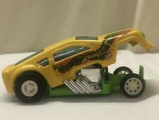 Vintage 1970's Buddy L Yellow/Green Dragon Dragster Funny Car!!!