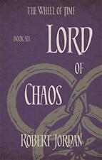 Lord Of Chaos : Libro 6 de Rueda Time por Jordan,Robert,Nuevo Libro,Gratis & F