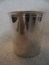 timbale argent 2eme coq 1809 (french silver 800 goblet) 78gr