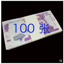 Malawi banknote 20 Kwacha 100pcs (UNC) 全新 马拉维20克瓦查纸币 100张整刀 2015-16年