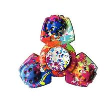 New Paint Splatter Fidget Spinner... I Ship Every Day! ADHD Multi Color Tie Dye