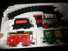"BATTERY OPERATED TRAIN SET ""FORTY NINER"" - 1991 SCIENTIFIC TOYS NO. 60123"