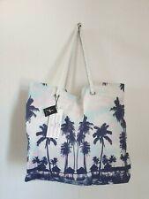 Atmosphere Primark huge palm tree beach bag rope handles holiday summer New