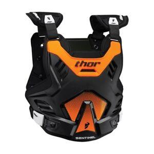 Thor Sentinel GP Black Flo Orange Adult XL XXL 2XL Roost Deflector 2701-0755
