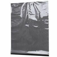0.5x2M Black Carbon Fiber Print Water Transfer Dipping Hydro Hydro Film Z6R3