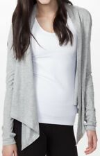 IVIVVA by LULULEMON Girls Size 7 Four's A Charm Convertible Wrap Cardigan Gray