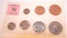 1965 Coins Of New Zealand  (Uncirculated Condition) Royal Mint London FREE SHIP!