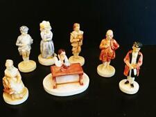 Lot of 7 Sebastian Miniatures