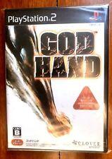 GOD HAND PLAYSTATION 2 (NTSC-J) JAPAN PS2 BRAND NEW FACTORY SEALED