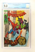 Amazing Spider-Man #97 - Marvel 1971 CGC 9.0 Drug story not approved by the Comi
