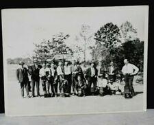 1930 U S Amateur Golf Championship, Original Photographer Team Photo, Jones Wins