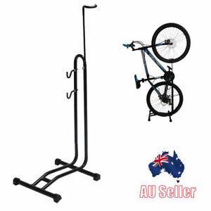 Floor Bike Stand Storage Steel Support Bicycle Holder Parking Rack 2 Size