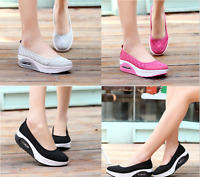 Women's Athletic shoes Casual Slip-On Toning Sneaker Walking Shoe