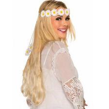 Daisy Flower Child Adult Hippie Fairy Headband Costume Hallowee Accessory