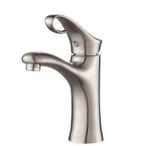 Kraus Bathroom Faucet FUS-13101BN Cirrus Single Lever   Brushed Nickel a3 $199