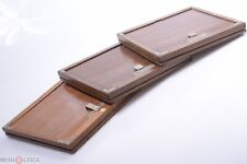 ✅ FOR ANTIQUE WOOD STUDIO CAMERA 18X24CM GLASS, WET PLATE HOLDERS, SLOTTED