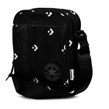 Black and White Converse All Star Poly Crossbody Shoulder Man Small Bag