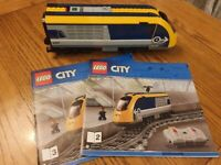 lego city passenger train 60197 Front Engine Unit - no power functions