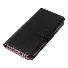 Black Mobile Phone Wallet Case for Apple