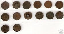 BRITISH INDIA GEORGE V 1/12 ANNA COINS1914 15 17 18 20 21 23-26 29 32 35 1936#10