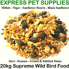 20kg  SUPREME Wild & Garden Bird Feed Mix Food Seeds