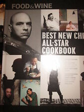 Best New Chefs All-Star Cookbook by Food & Wine new 2013 hardcover