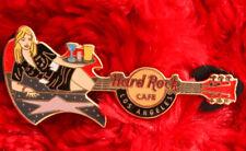 Hard Rock Cafe Pin Los Angeles GIRL Walk of FAME Sidewalk guitar GIRL logo