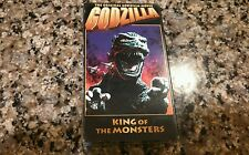 GODZILLA KING OF THE MONSTERS New Sealed VHS! Tremors Cloverfield Jaws 2