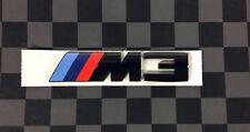 BMW M3 F80 Competition Black Rear Emblem 51148068580, 51 14 8 068 580,