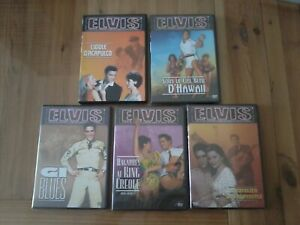 ELVIS PRESLEY - lot de Films en DVD - TTBE
