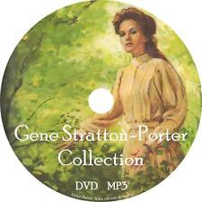 Gene Stratton-Porter Audio Book Collection 1 MP3 DVD Freckles Laddie FREE SHIP
