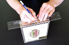 Cigar Box Guitar Acrylic Neck Notching Template - save time& increase accuracy!