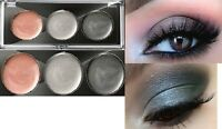 Maybelline Eyestudio Color Gleam Cream Eye Shadow Trio -Silver Starlet- New