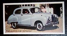 Austin A40 Somerset    Vintage 1950's Coloured Card