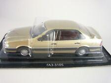 GAZ-3105 Volga golden 1:43 DeAgostini Auto Legends USSR Best #31