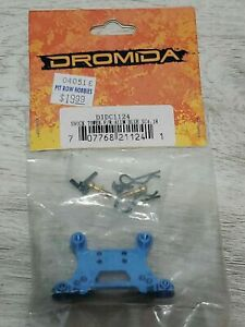 Dromida #DIDC1124, Shock Tower, F/R, Alum, Blue, DB DT MT SC4.18- New in Package