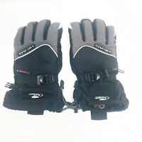HEAD Men's Snow Ski & Snowboard Gloves Black Size Medium Outlast Hipora GoreTex